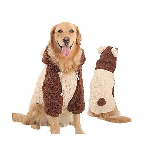 Abrigo de invierno 2020 para perros medianos y grandes, ropa de camuflaje gruesa para mascotas ropa para perro Hondenjas Mascotas de camuflaje 5XL