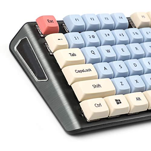 New Arrial XDA 61 64 68 87 84 Lotus Keyset Dye-sub Keycaps for MX Mechanical Keyboard Filco KBD75 GK64 Tada68 Ducky One 2 SF(Only Keycap)