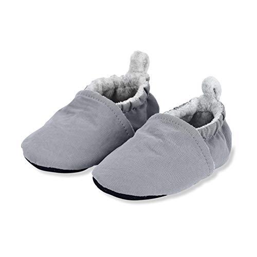 Sterntaler Baby-Krabbelschuh, Mocasín Unisex bebé, Gris, 16 EU