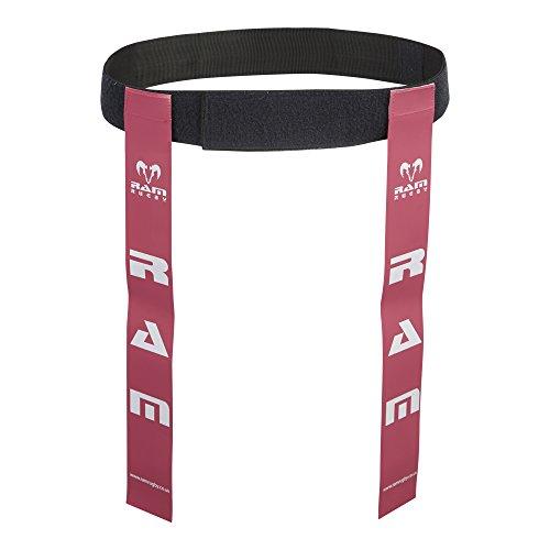 Cinture da rugby ed etichette–Set di 10cinture e 20etichette –disponibile in 6colori–2taglie, Pink