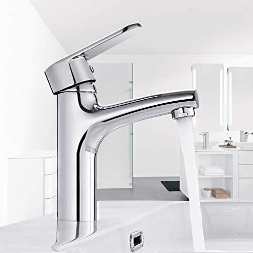 BONADE Wasserhahn Bad waschtischarmatur Einhandmischer für Waschtisch Wasserhahn Badarmatur Waschbecken Einhebel Mischbatterie Einhebelmischer Heißes und Kaltes Wasser Armatur für Badezimmer