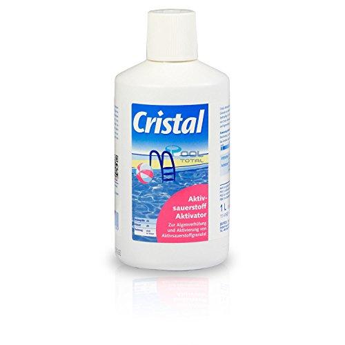 Bayrol Cristal Aktivsauerstoff Aktivator 1,0 l - zur chlorfreien Wasserdesinfektion