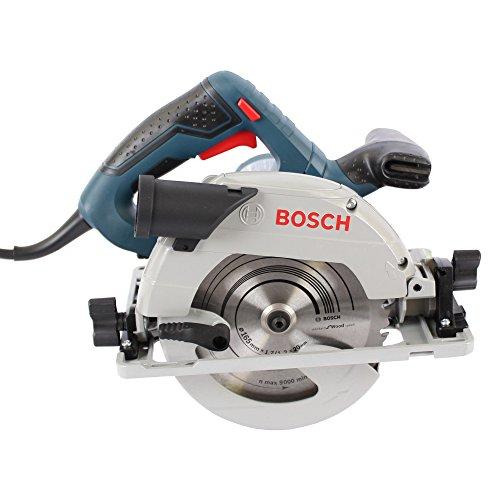 Bosch Professional Scie Circulaire GKS 55+ GCE (1350W, Ø de la lame de scie 165 mm, Boîte en Carton)