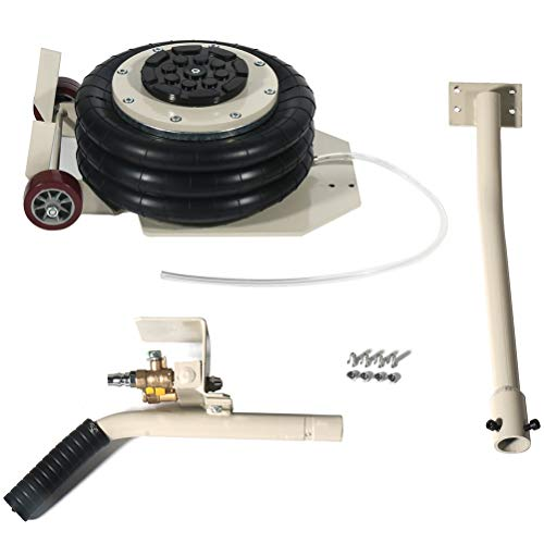 Find Bargain FINDAUTO Portable 6600lbs 3Tons Triple Bag air Jack Pneumatic Lift Car Repair Inflatabl...
