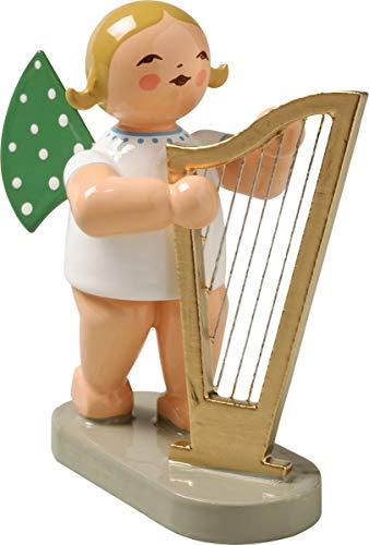 Wendt & Kühn Engel mit Harfe groß Größe 5-6 cm
