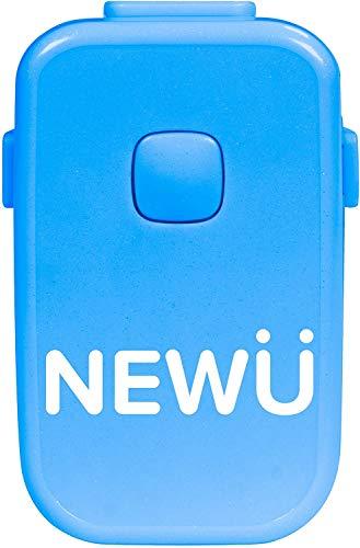 NewU Alarma de enuresis con 8 tonos fuertes, vibraciones fuertes alarma de enuresis para enuresis para niños y niñas con sueño profundo