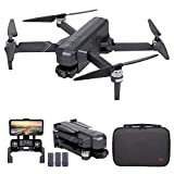 GoolRC SJRC F11 4K PRO GPS Drone, 5G WiFi FPV Drone with 4K HD Camera, 2-Axis Gimbal and Brushless Motor, Foldable RC Quadcopter with Auto Return, Altitude Hold, Follow Me, Storage Bag and 3 Batteries