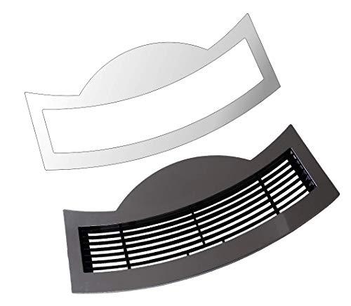 3 x Schutzfolie für Jura E-Line - S8 - S80 - E8 - E80 Modell ab 2018-2020 Tassenablage, Abtropfblech, Tassenplattform