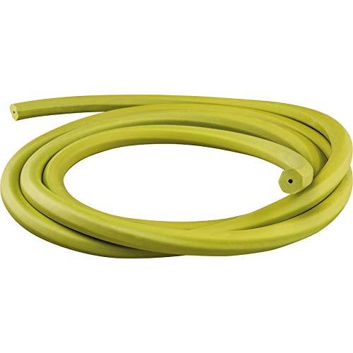 SALVIMAR Eptagum 1,5mt, Elastico per Arbalete Unisex Adulto, Lime, 14 mm-1,5 Metri