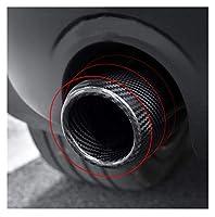 テールパイプ 車外カーボンエキゾーストテールスロートエキゾーストパイプにとってBMW用ミニ用クーパー用F54F55 F56 F57 F60