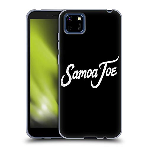 Head Case Designs Officially Licensed WWE Logo Samoa Joe Soft Gel Case Compatible with Huawei Y5p / Honor 9S