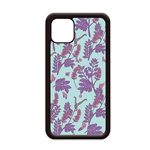 Bloemen Plant Schilderij lavendel voor Apple iPhone 11 Pro Max Cover Apple Mobiele Telefoonhoesje Shell, for iPhone11