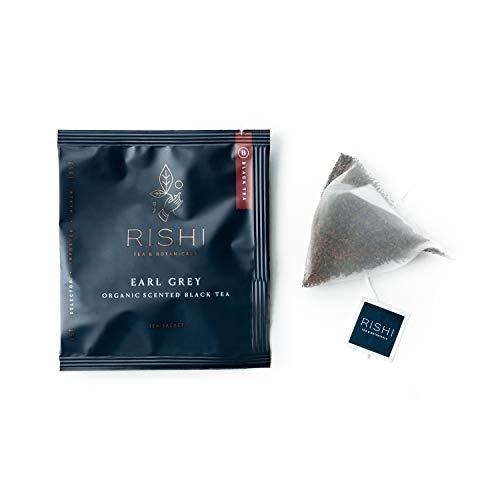 Rishi Tea Organic Tea Bags, Earl Grey, 50 Count