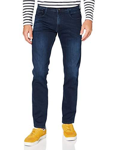 Replay Herren Anbass Jeans, Dark Blue, W34 / L34
