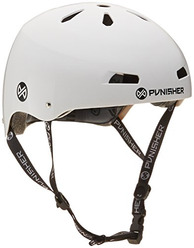 Punisher Skateboards 13 Vent Pro BMX Bike and Skateboard Safety Helmet for Youth Ages 9 and up