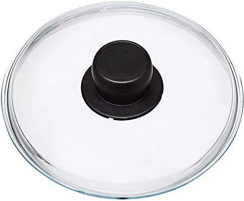 Spares2go Couvercle universel en verre pour woks, cocottes et cocottes 26 cm