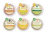 NANA - Pack de 24 tarritos ecológicos frescos 4 de cada variedad de 185 g