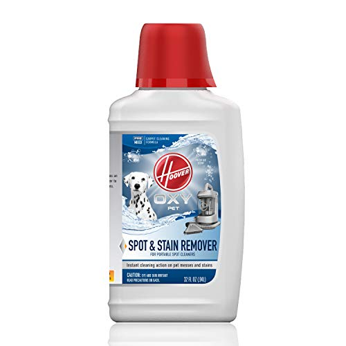 Hoover Oxy Premixed Spot Cleaner Solution, Stain Remover and Odor Neutralizer for Pets, Carpet Cleaning Shampoo, 32oz Formula, AH30941, White