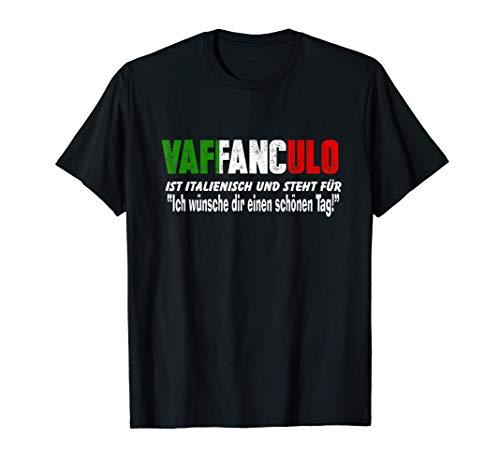 Italiener Vaffanculo SizilienTourist Reisen Lustiger Spruch T-Shirt