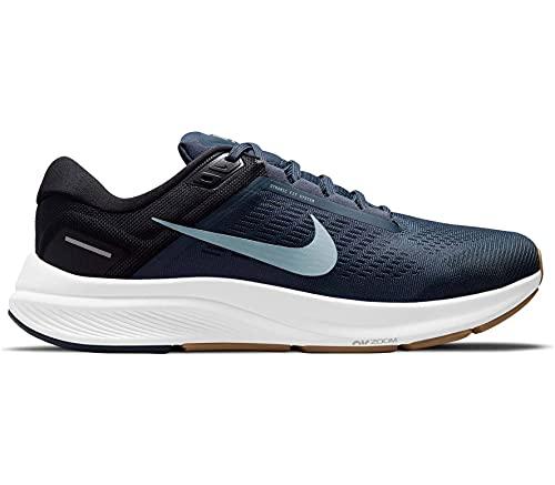Nike Air Zoom Structure 24, Scarpe da Corsa Uomo, Thunder Blue/Wolf Grey-Black, 44 EU