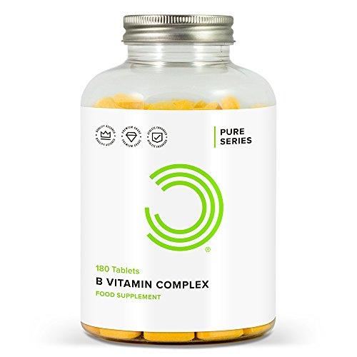 BULK POWDERS Vitamin B Komplex Tabletten, 180 Tabletten