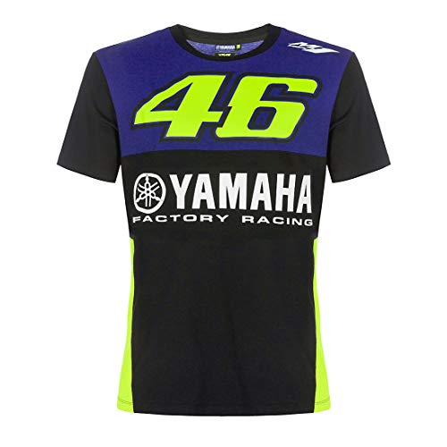 Valentino Rossi VR46 T-Shirt MotoGP M1 Yamaha Factory Racing Team Offiziell 2019