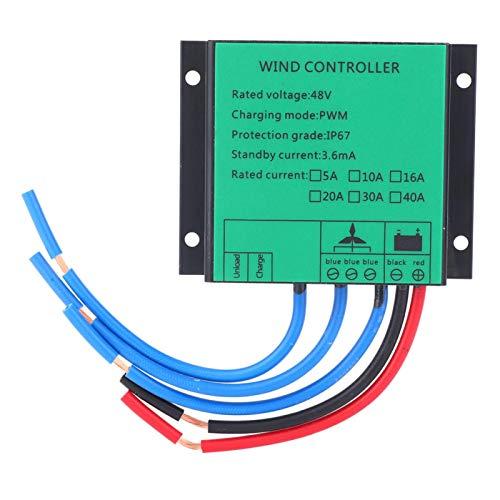 KUIDAMOS Controlador de aleación de Aluminio de disipación de Calor de Alta eficiencia Controlador de generador de Viento de Larga Vida útil para Control de generador de Viento