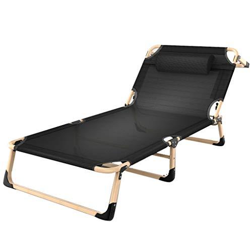 Zero Gravity Lounge Chair Fauteuil inclinable et inclinable réglable Chaise longue Lit bébé Camping Plage de sable Chaise longue (Couleur : A, taille : Chai)