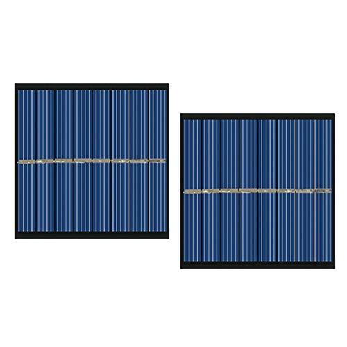 VANKOA Mini Solarpanel Solarmodul Polykristalline Solarzelle DIY Ladegerät - 160mA -4V