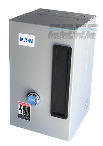 EATON A27CGF40B040 MAGNETIC MOTOR STARTER 10HP 3 PHASE 208-230 VOLT 40 AMP DEFINITE PURPOSE STARTER CONTROL