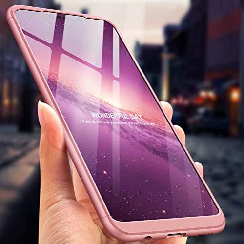 CIRRYS kompatibel mit Handyhülle für Huawei Nova 3i/ P Smart+ Hülle+Nicht enthalten Panzerglas Extra Dünn Ultra Slim Cover Schutzhülle Schale Hardcase - Roségold - 6