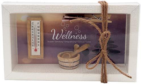 ZauberDeko Geldgeschenk Verpackung Geldverpackung Gutschein Wellness Sauna Massage Erholung