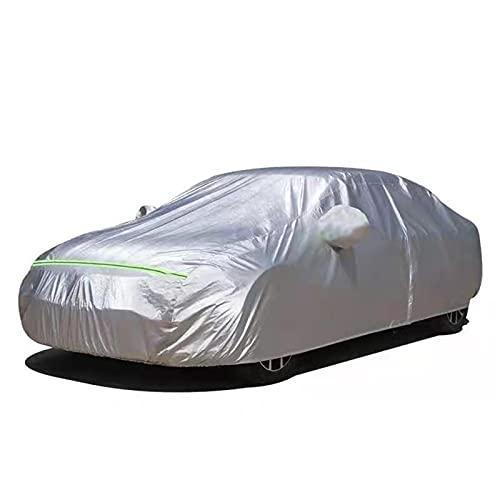 ZYuan Impermeabile Telo Copriauto Compatibile con KIA Carnival Oxford Telo Auto 100% Impermeabile Traspirante AntiGraffio Resistente UV Antipolvere (Color : Silver, Size : Carnival)