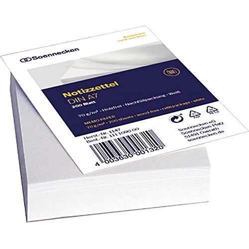 Zettelkasten Einlagen A7 200Blatt - Bürokleinmaterial