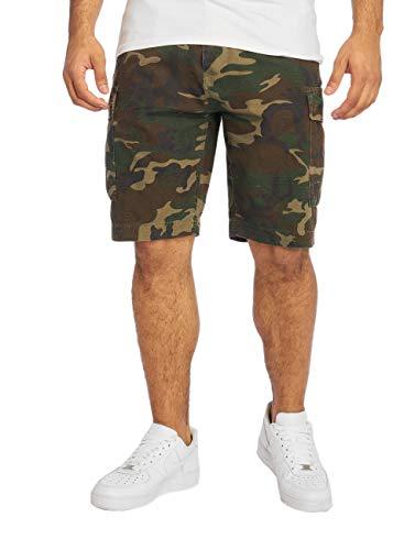 Brandit BDU Ripstop Shorts, Plusieurs Couleurs, Taille S À 7XL - Woodland, 3XL