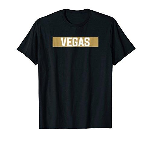 Vegas Golden VGK City Hockey T-Shirt