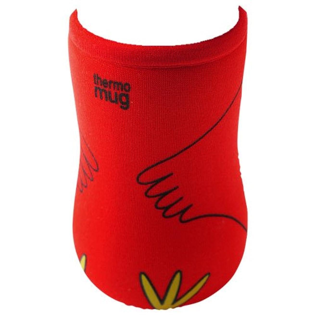 thermo mug(サーモマグ) アニマルボトル用交換カバーケース  レッド(トリ)