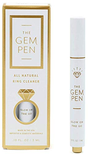 The Gem Pen Ring Cleaning Pen Brush - On-The-Go Diamond Jewelry Cleaner from The Mrs. Box