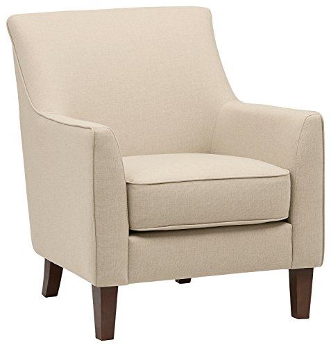 "Amazon Brand – Stone & Beam Cheyanne Living Room Accent Chair, 31""W, Marshmallow"