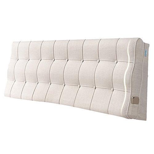 TLMYDD kussen voor de bedkant, zacht, groot tweepersoonsbed, prinsessenkussen, Europese stof, tatami, anti-botsing, hoofdkussen