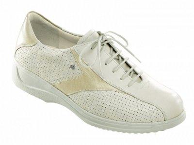Finn Comfort Damen Schuhe Schnürschuh Halbschuh Macau Fresh Sand 217035186122051 (37.5 EU)