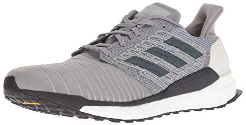 adidas Men's Solar Boost Running Shoe, Grey/Bold Onix/Grey, 12 M US