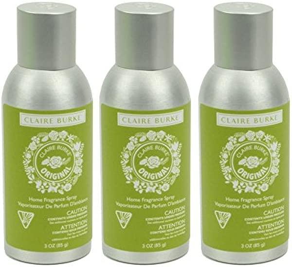 Claire Burke Original Home Fragrance Spray 3 Ounces Pack Of 3