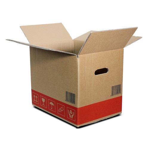 Simba Paper Design 10 Scatole Cartone 2 Onde Trasloco+Spedizione FRAGILI-Libri cm. 40x29 h35