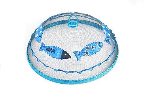 Excelsa Ocean Coprivivande Tondo, Rafia, Blu