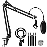 InnoGear Microphone Stand for Blue Yeti Adjustable...