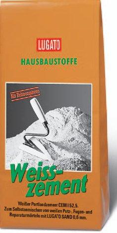 Lugato Weisszement 5 kg
