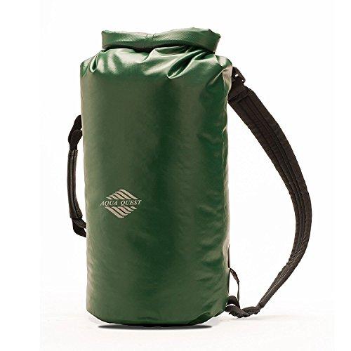 Aqua-Quest 100% Waterproof Backpack - 'Mariner' 10L - Green Model