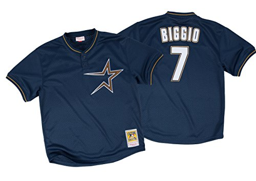 Mitchell & Ness Craig Biggio 1997 Authentic Mesh BP Jersey Houston Astros 48(XL)