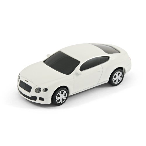 Bentley Continental GT Car USB Memory Stick 8Gb - White